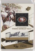 Terrell Owens [Noted] #/50