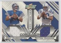 Joey Harrington, Peyton Manning [EXtoNM] #/250