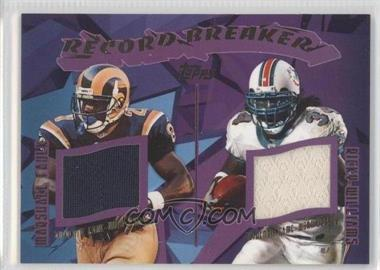 2003 Topps - Record Breakers Dual Relics #RDR-FW - Ricky Williams