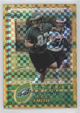 2003 Topps Chrome - [Base] - Gold X-Fractor #182 - L.J. Smith /101