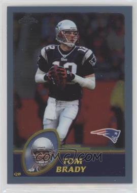 2003 Topps Chrome - [Base] #124 - Tom Brady