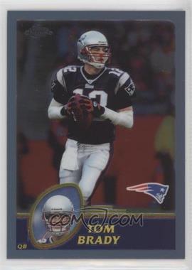 2003 Topps Chrome - [Base] #124 - Tom Brady