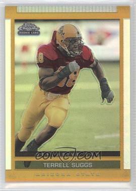 2003 Topps Draft Picks & Prospects - [Base] - Chrome Gold Refractor #114 - Terrell Suggs