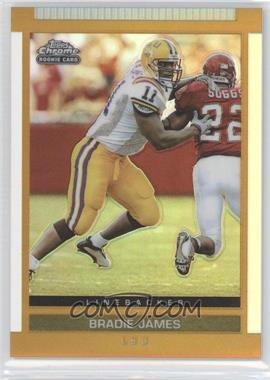 2003 Topps Draft Picks & Prospects - [Base] - Chrome Gold Refractor #154 - Bradie James