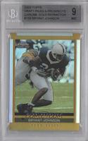 Bryant Johnson [BGS 9 MINT]