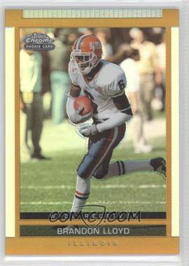 2003 Topps Draft Picks & Prospects - [Base] - Chrome Gold Refractor #164 - Brandon Lloyd