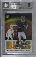 Willis McGahee [BGS 9 MINT] #/75
