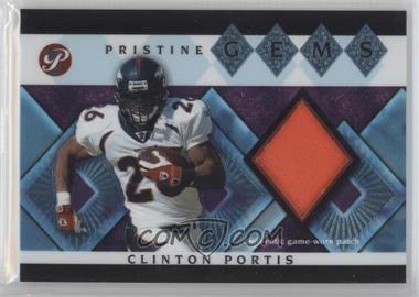 2003 Topps Pristine - Pristine Gems #PG-CPO - Clinton Portis