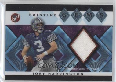 2003 Topps Pristine - Pristine Gems #PG-JH - Joey Harrington