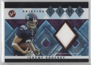 2003 Topps Pristine - Pristine Gems #PG-JS - Jeremy Shockey