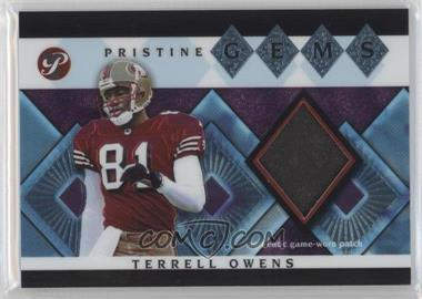 2003 Topps Pristine - Pristine Gems #PG-TO - Terrell Owens