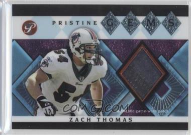 2003 Topps Pristine - Pristine Gems #PG-ZT - Zach Thomas