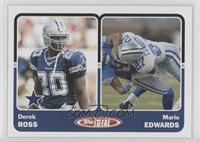 Derek Ross, Mario Edwards