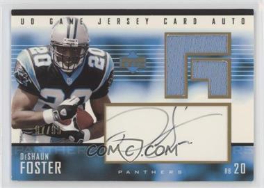 2003 Upper Deck - UD Game Jersey - Gold Autographs [Autographed] #GJA-DF - DeShaun Foster /99