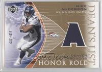 Mike Anderson /25