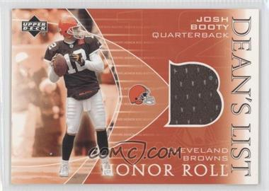 2003 Upper Deck Honor Roll - Dean's List Jerseys #DL-JB - Josh Booty