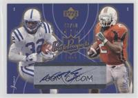 Edgerrin James, Willis McGahee #/50