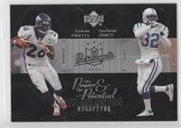 Clinton Portis, Edgerrin James /1700