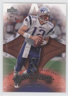 2003 Upper Deck Sweet Spot - [Base] #129 - Tom Brady /100