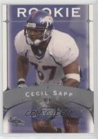 Cecil Sapp #/675