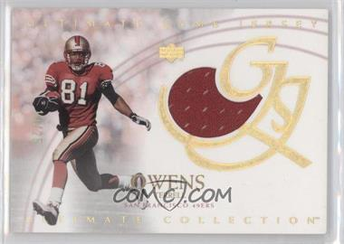 2003 Upper Deck Ultimate Collection - [???] #UJTO - Terrell Owens /25