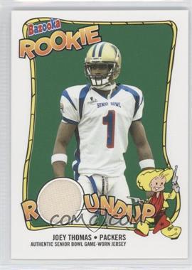 2004 Bazooka - Rookie Roundup Jerseys #RR-JT - Joey Thomas