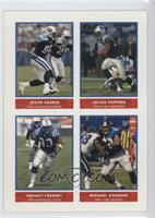Jevon Kearse, Dwight Freeney, Julius Peppers, Michael Strahan