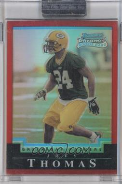 2004 Bowman Chrome - [Base] - Uncirculated Red Refractor #213 - Joey Thomas /210