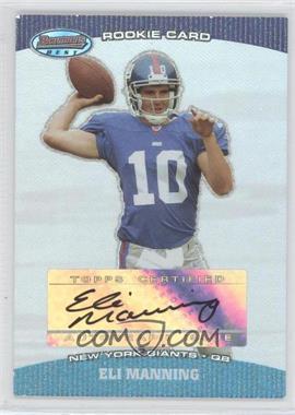 2004 Bowman's Best - [Base] #126 - Eli Manning /199