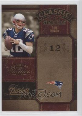2004 Donruss Classics - Classic #CS-28 - Tom Brady /1000