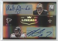Aaron Brooks, Michael Vick /100