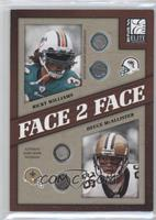 Ricky Williams, Deuce McAllister #/125