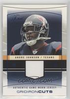 Andre Johnson [Noted] #/200