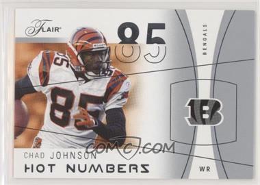 2004 Flair - Hot Numbers #28 HN - Chad Johnson /500