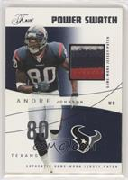 Andre Johnson #/75