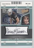 Robert Gallery (Autographed by Norv Turner) #/100