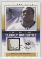Jamal Lewis #/90