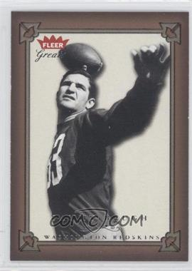2004 Fleer Greats - [Base] #13 - Sammy Baugh