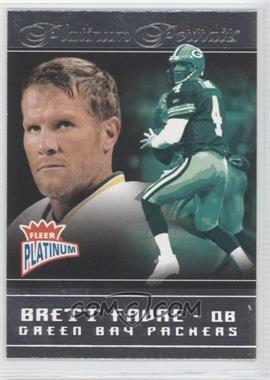 2004 Fleer Platinum - [???] #7PP - Brett Favre
