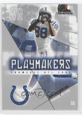 2004 Fleer Showcase - Playmakers #3 PM - Marvin Harrison