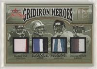 Michael Vick, Joey Harrington, Byron Leftwich, Donovan McNabb #/42