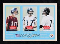 Eli Manning, Philip Rivers, Ben Roethlisberger [Mint]