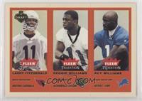 Larry Fitzgerald, Reggie Williams, Roy Williams #/375