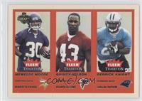 Mewelde Moore, Quintin Williams, Derrick Knight /375