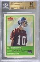 Eli Manning [BGS10PRISTINE]
