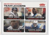 Drew Brees, LaDainian Tomlinson, David Boston, Quentin Jammer
