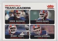 Drew Bledsoe, Travis Henry, Bobby Shaw, Aaron Schobel