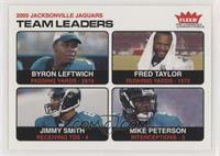 Byron Leftwich, Fred Taylor, Jimmy Smith, Mike Peterson