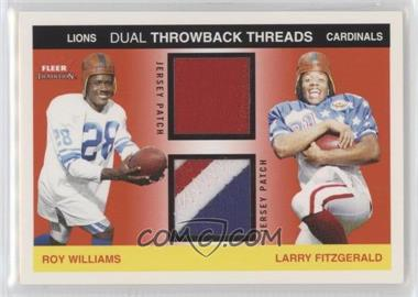 buy popular 26f37 55ff9 2004 Fleer Tradition - Rookie Throwback Threads Dual ...