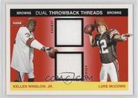 Kellen Winslow Jr., Luke McCown /100